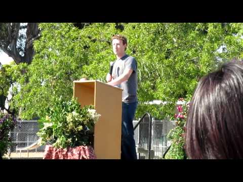 Mark Zuckerberg s Speech to Eighth Graders at Belle Haven