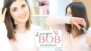 Corte largo bob | Bob haircut