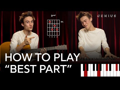 """How To Play Daniel Caesar & H.E.R.'s """"Best Part"""" With Jacob Collier"""