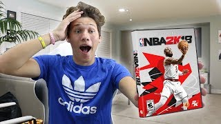PLAYING NBA 2K18 EARLY!!