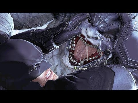 Batman Arkham Origins Gameplay German - Killer Croc Vs. Batman