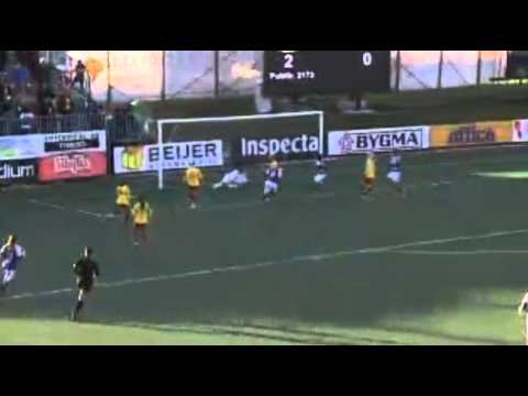 Damallsvenskan 2012. Mejores momentos del partido.