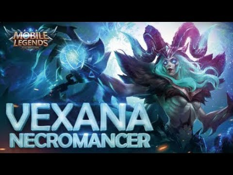 Mobile Legends - New hero Necromancer-Vexana First Look at Next Update