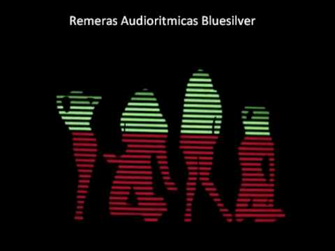 Eq Chicas Bailando Audiorirmica Remera Luminosa Bluesilver