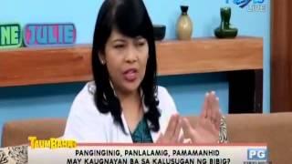 Dental Talk April 08,2015-Panginginig,panlalamig, pamamanhid may kaugnayan ba sa kalusugan ng bibig?