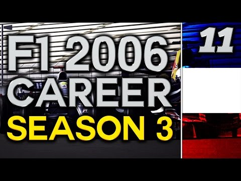 F1 2006 Career Mode S3 Part 11: FRENCH GP