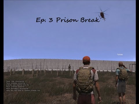 Arma 3: Altis Life Ep. 3 Prison Break