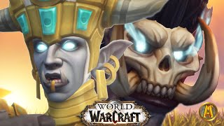 World of Warcraft: Battle for Azeroth - All Horde Cinematics [Patch 8.0-8.3]