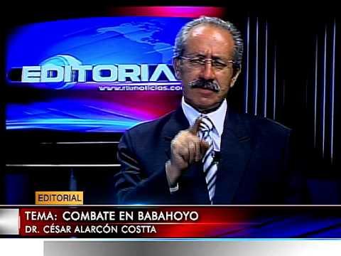 EDITORIAL JUEVES  07 AGOSTO 2014 TEMA: COMBATE EN BABAHOYO