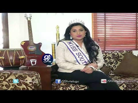 Social Service :Trisha Guduru Miss South Asia International - Life & Style - 20-01-2015 - 99tv