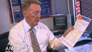 Vin Scully discusses what he does to prepare for a game - EMMYTVLEGENDS.ORG