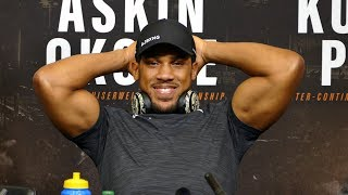 ANTHONY JOSHUA *POST FIGHT PRESS CONFERENCE* VS. ALEXANDER POVETKIN