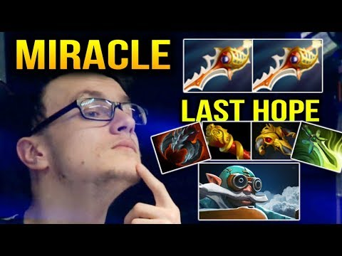 MIRACLE 2 Divine Rapier for Gyro is the Last Hope Dota 2 7.10