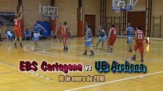 EBS Cartagena vs UB Archena (10-1-2016)