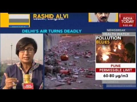 Alarming Increase In Pollution In Delhi Post Diwali