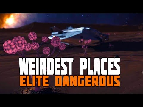 Elite Dangerous Discovery - The Weirdest Places in the Galaxy