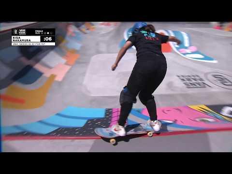 1st Place - Kisa Nakamura (JPN) 88.23 | Huntington Beach, Canada | 2018 Women's Vans Park Series