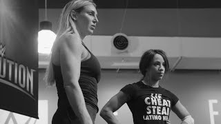 Sasha Banks trains with Charlotte to prepare for Ronda Rousey