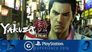 Yakuza Kiwami Announcement Trailer | PSX 2016