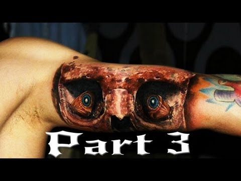 Best 3D tattoos in the world 2013 HD [ Part 3 ]