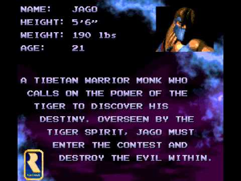 Killer Instinct - Killer Instinct Theme (SNES) - User video