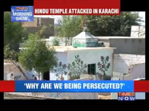Hindu temple attacked in Karachi
