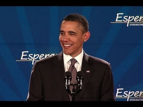 President Obama speaks at the 2011 Hispanic Prayer Breakfast