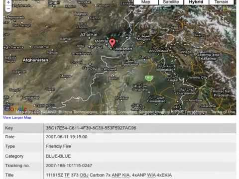 Leaked Afghanistan war logs how to read them with links and downloads SEE INFO