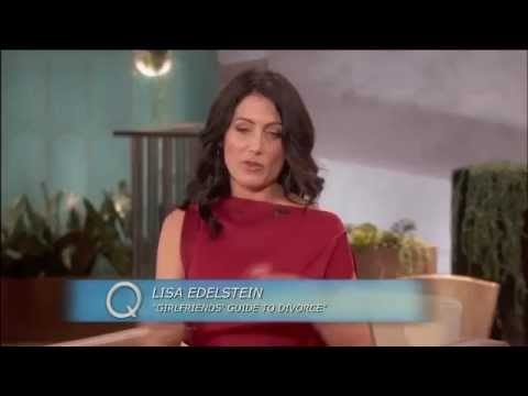 Lisa Edelstein on The Queen Latifah Show, 12/12/2014