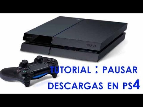 Cómo pausar las descargas en PS4 | Truco
