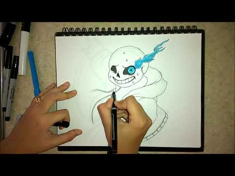 How to draw Sans