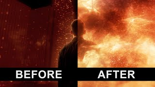 Infinity Before and After VFX