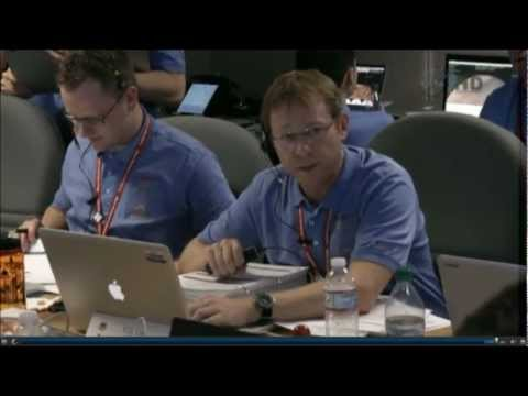 [HD] NASA TV: Mars Curiosity Landing. JPL Control Room. Spine-chilling!