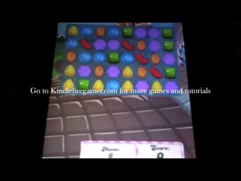 Install Candy Crush Saga onto your Kindle Fire/Kindle Fire HD