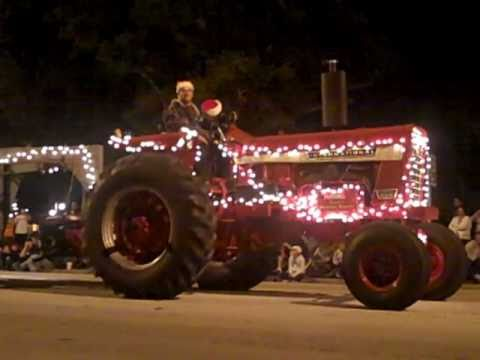 Christmas Parade in Okeechobee florida