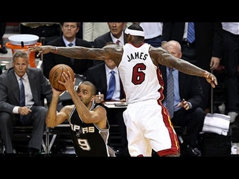 Tony Parker's AMAZING buzzer-beater in Game 1!