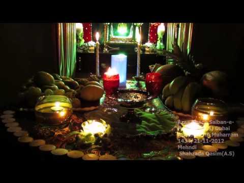 Noha 2013 Mehndi Janab-e-qasim A.s (hay Hay Qasim) video