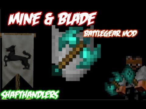Minecraft mine blade battlegear mod