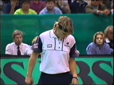 Tennis Archive: Jana Novotná vs Anke Huber @ WTA Leipzig 1997
