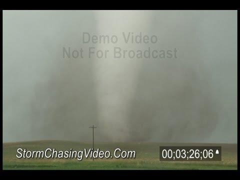 6/20/2011 Pleasanton, NE Tornado B-Roll Video