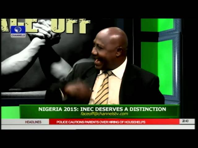 FaceOff: Does INEC Deserve A Distinction Over Just Concluded Polls Pt.4 15/04/15