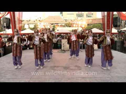 Turkish Folk Dance or Indian Bollywood version?
