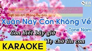 Xuân Này Con Không Về - Karaoke Beat Chuẩn