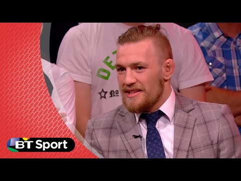 """Conor McGregor trash talking Chad Mendes: """"I can rest my balls on your forehead"""""""