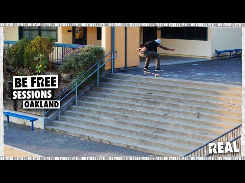 BE FREE Sessions : Oakland with Ishod Wair, Kyle Walker & Zion Wright