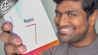 Redmi 7 (7k | SD632 | 4000 mAh) - Unboxing & Hands On Review