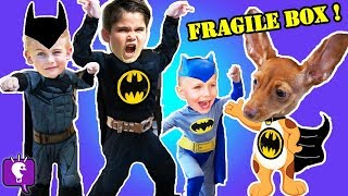 BATMAN ADVENTURE! Imaginext Toys REVIEW and Play with HobbyKidsTV