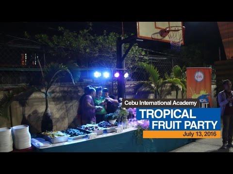 (English School in Cebu, Philippines ) Cebu International Academy - 9th Tropical Fruit Party & Games