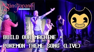 First Live Performance Build Our Machine Pokemon Theme Song