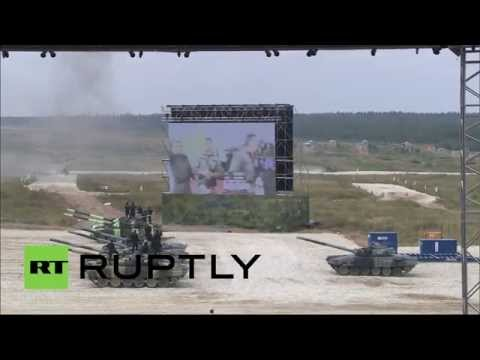 Tank Biathlon: Second stage of World Championship kicks off near Moscow